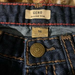 Big boys lot of 2 jeans